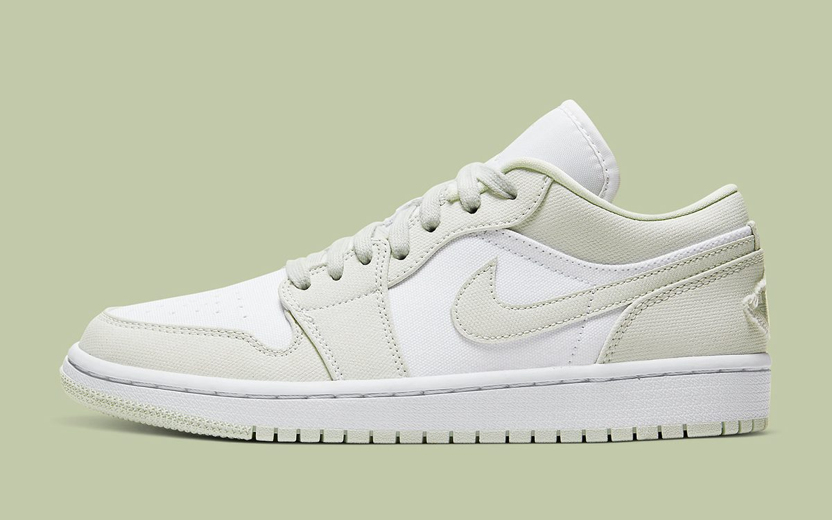 "The Air Jordan 1 Low Surfaces in ""Spruce Aura"""