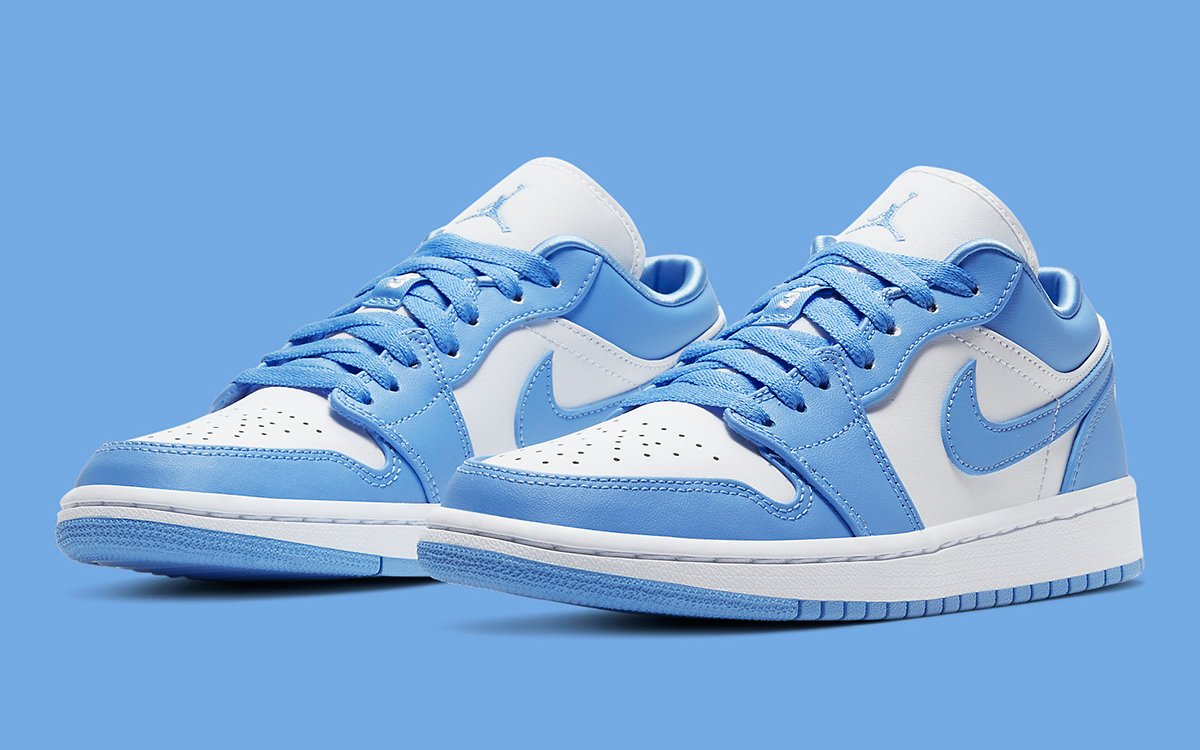 Just Dropped Air Jordan 1 Low Unc House Of Heat Sneaker
