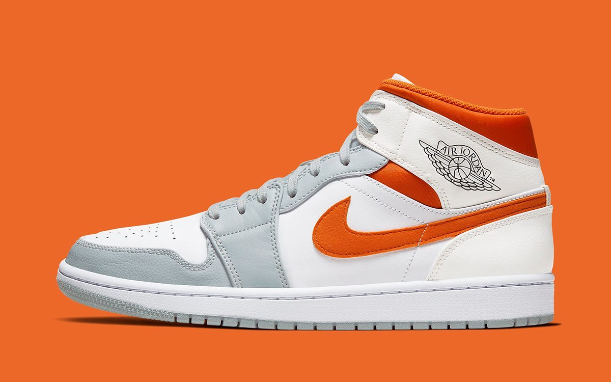 "Air Jordan 1 Mid ""Texas Longhorns"" Ready for March Madness Release"