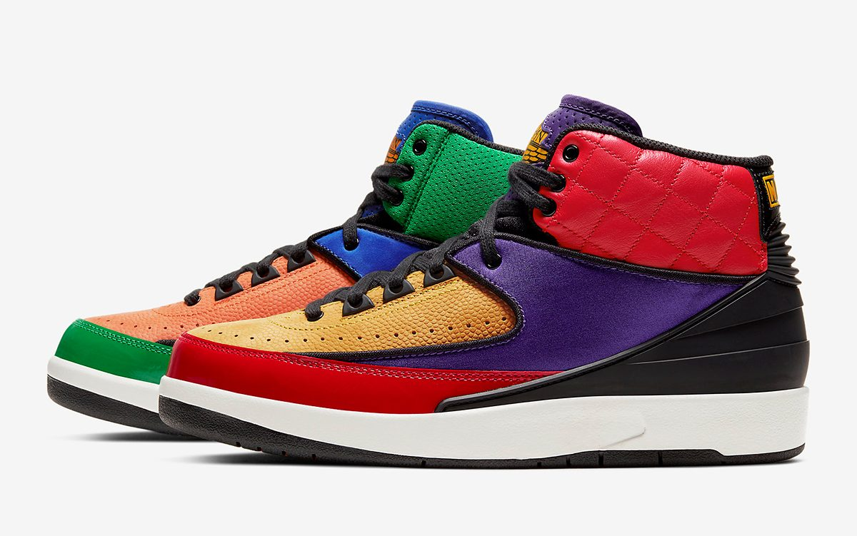 "The Air Jordan 2 ""Rivals"" Tributes Michael's Early NBA Battles"
