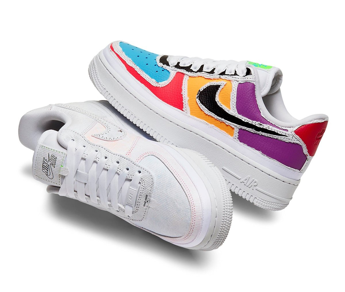 Where To Buy The Tear Away Air Force 1 House Of Heat Sneaker