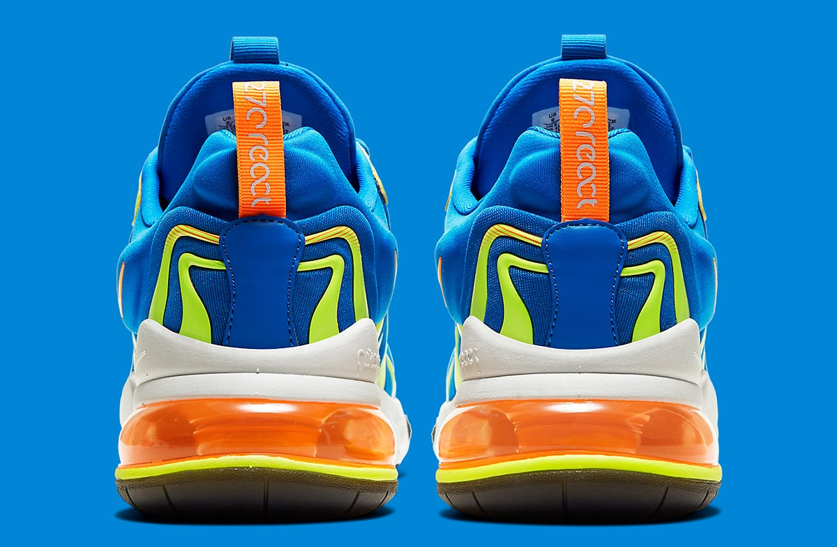 Electric Blue Nike Air Max 270 React Eng Available Now House Of