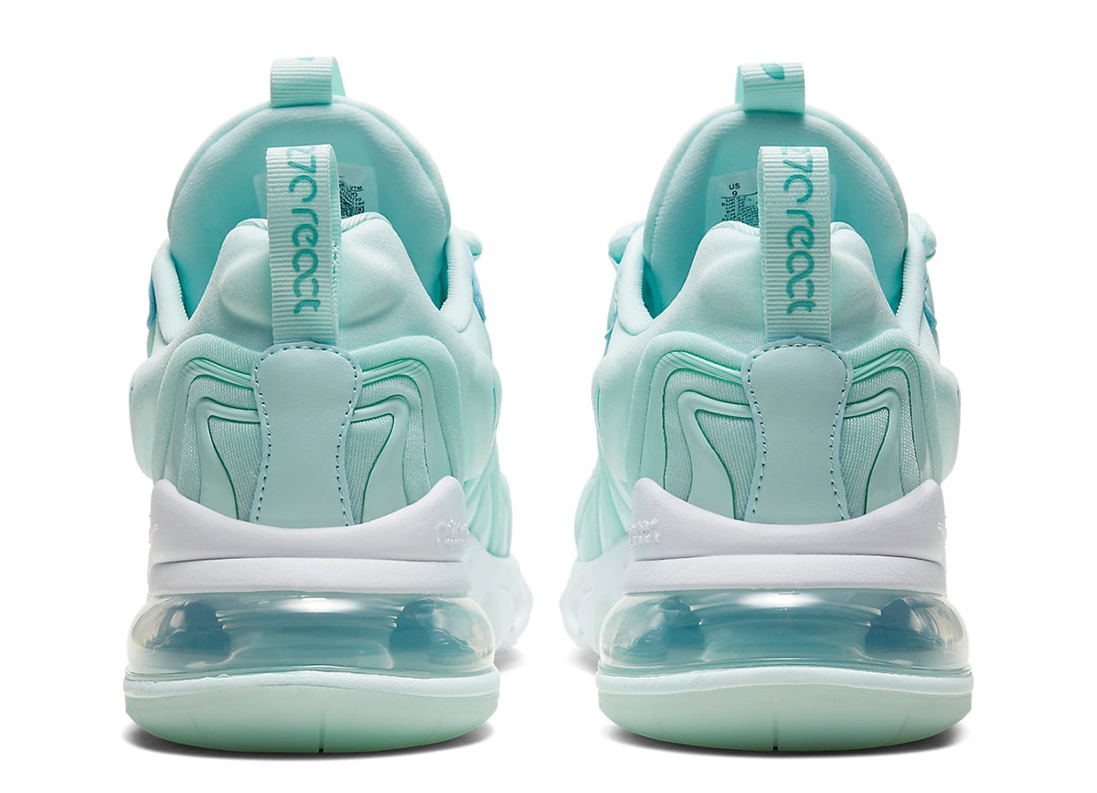 Available Now Nike Air Max 270 React Eng Teal Tint House Of