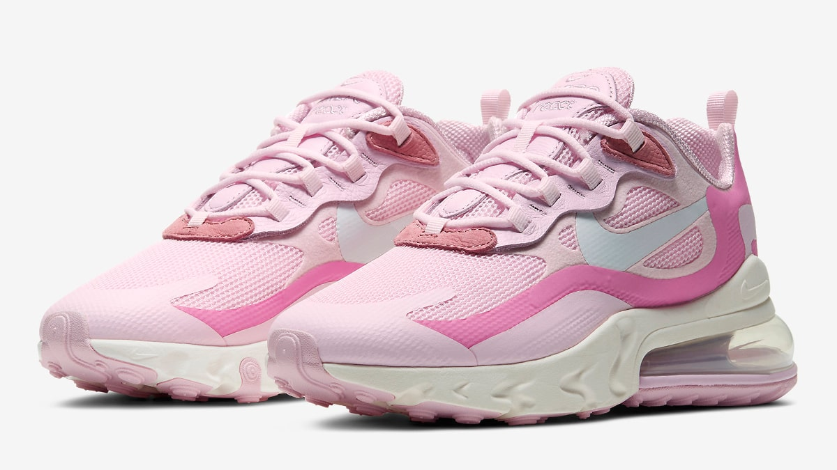 Nike Air Max 270 React Pops Up In Pink Foam House Of Heat Sneaker News Release Dates And Features