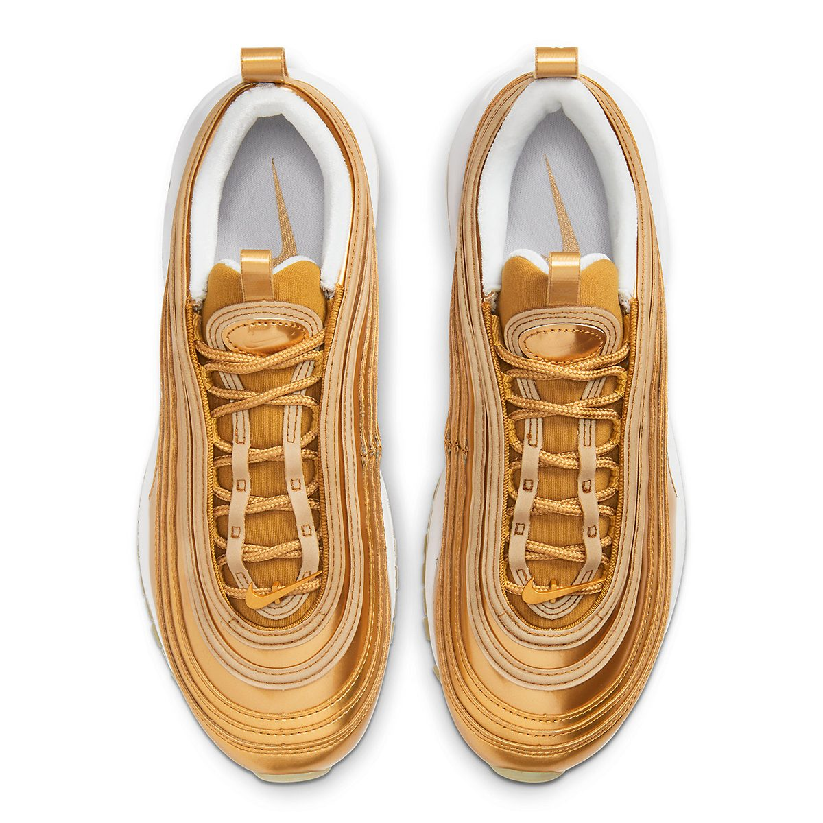 "Available Now // Air Max 97 ""Gold Medal"""