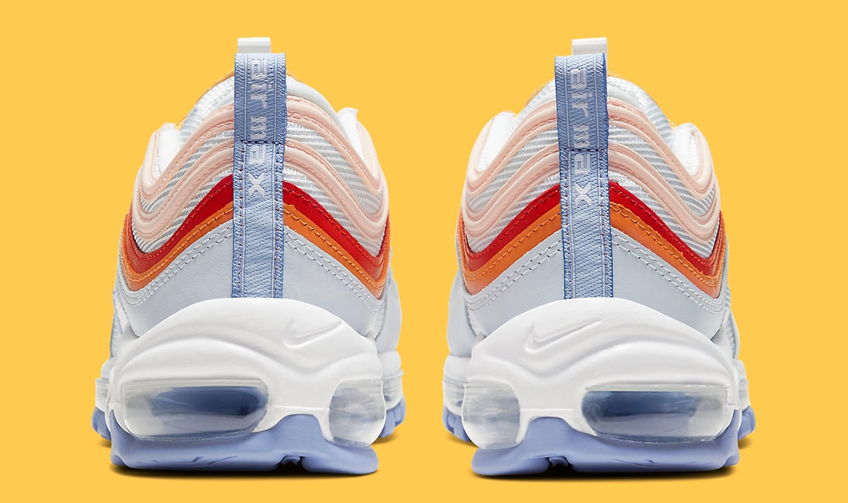 nike air max 97 white pink lavender red oragne cw5588 001 release date info 5