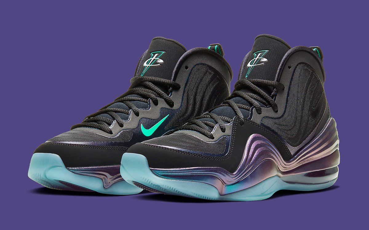 "Available Now // Nike Air Penny 5 ""Invisibility Cloak"""