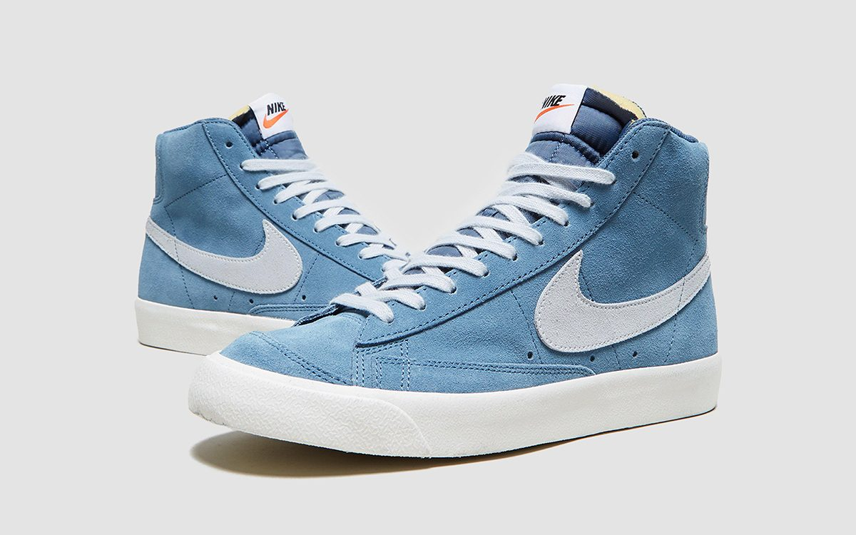Available Now // Nike Blazer Mid '77 Suede