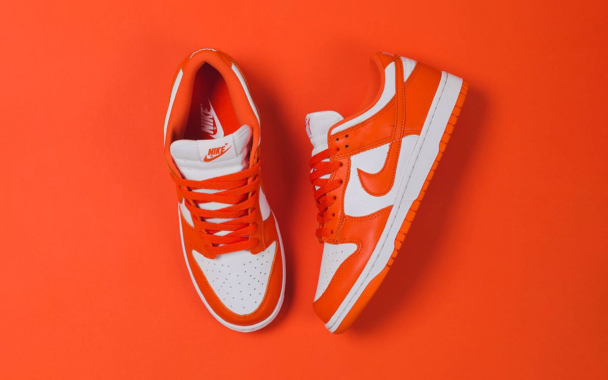 "Nike Dunk Low ""Syracuse"" Releases Tomorrow!"