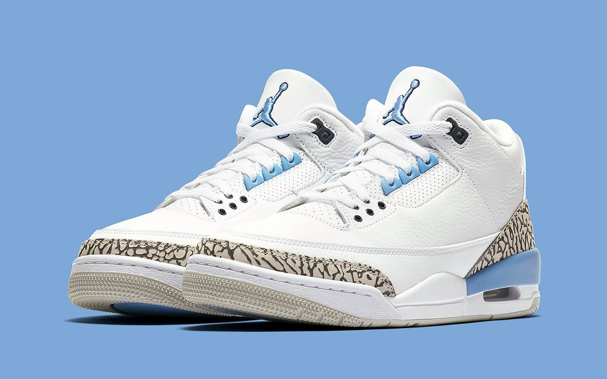 "Where to Buy the Air Jordan 3 ""UNC"""