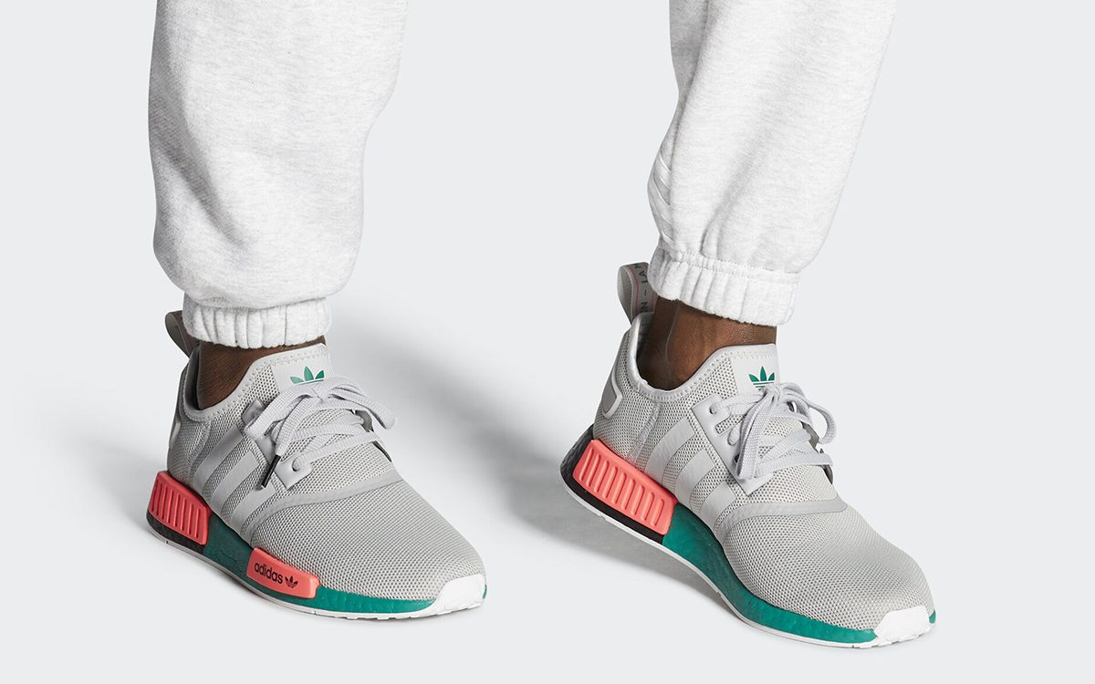 """""""South Beach"""" adidas NMD R1 Continues Split-Blocked BOOST Series"""