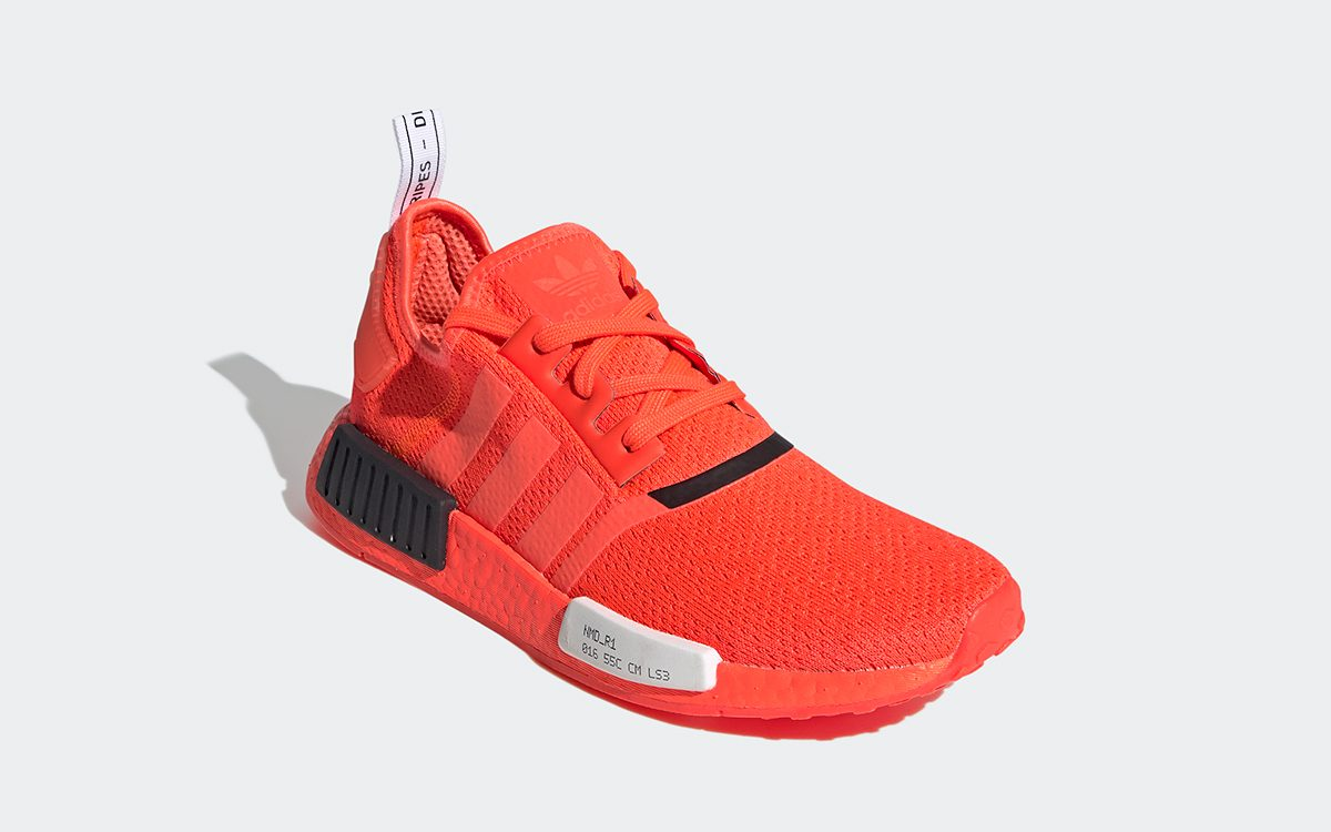 """adidas NMD R1 Surfaces in Simmering """"Solar Red"""""""