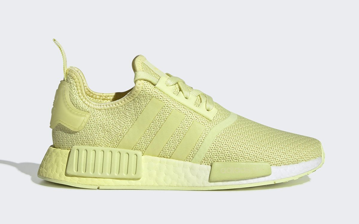 """adidas Freshly Squeeze a New """"Lemon"""" NMD R1"""