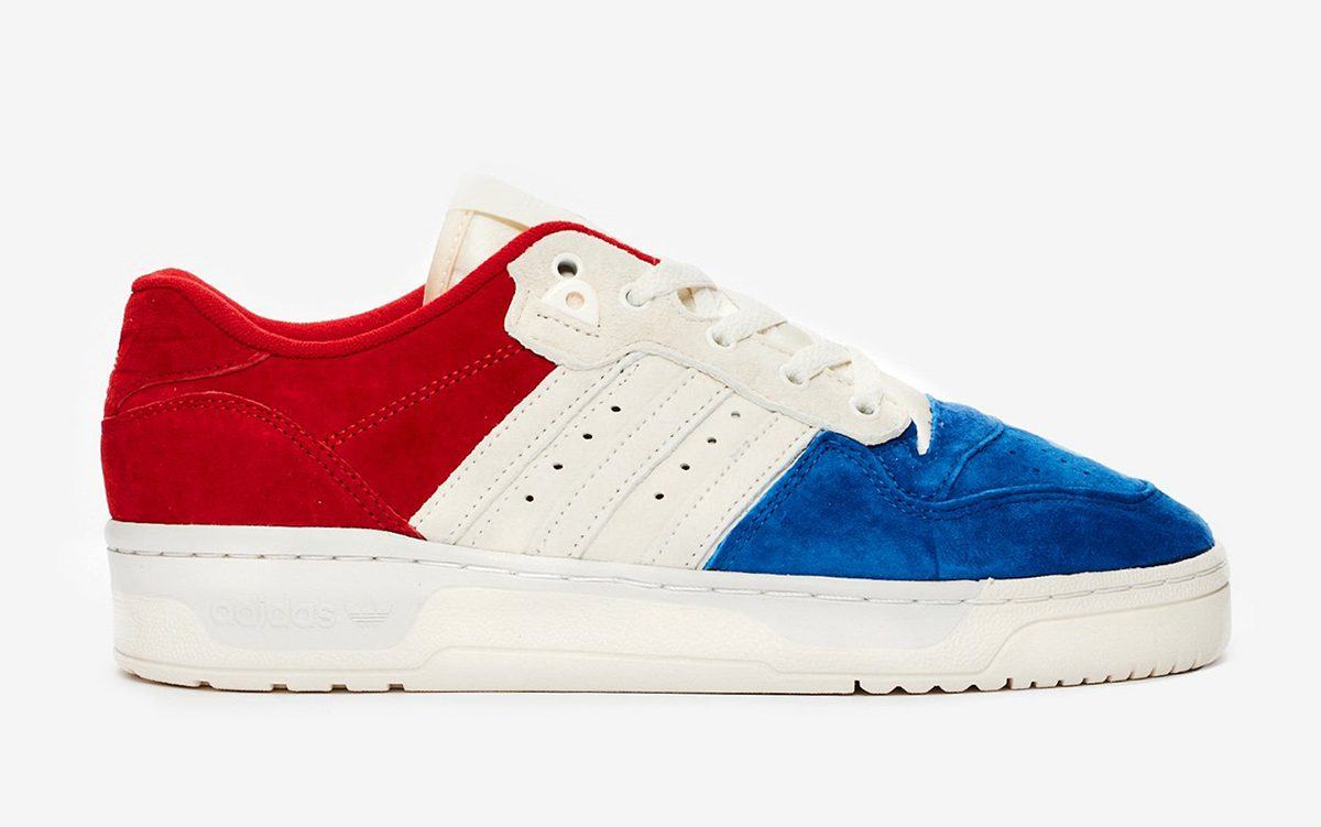 """Available Now // adidas Rivalry Low """"Tricolore"""""""