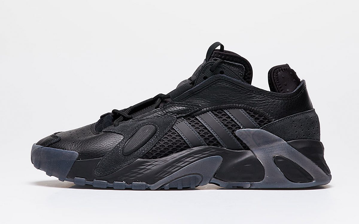 """The adidas Streetball is Available Now in a Threatening """"Triple Black"""" Take"""