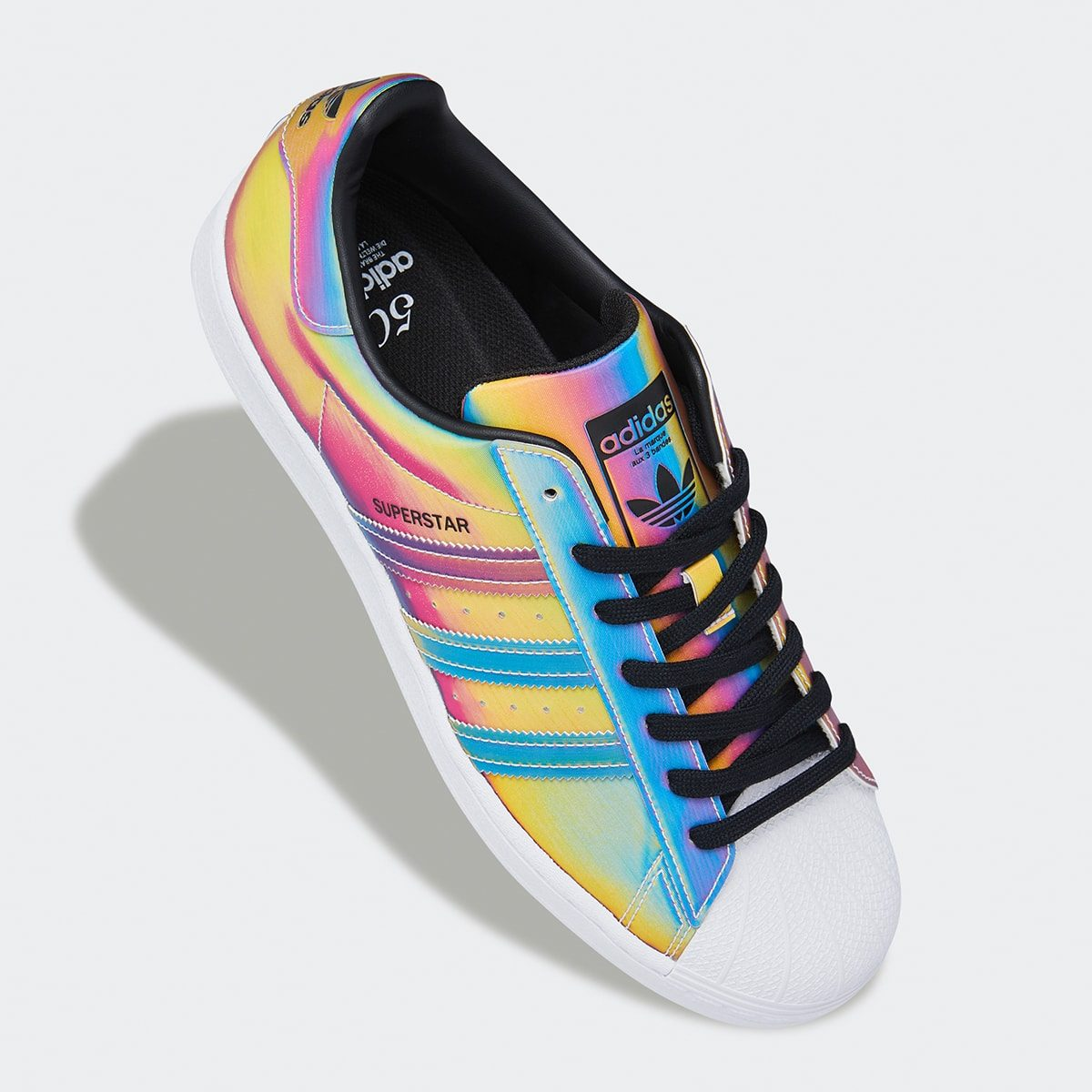 """The adidas Superstar Appears in """"Rainbow Iridescent"""""""