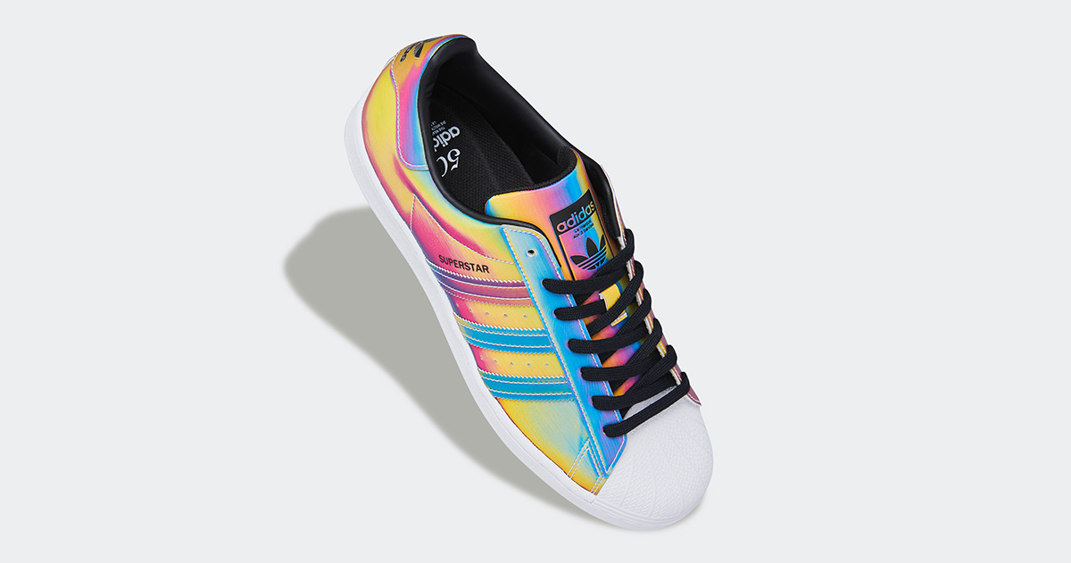 The adidas Superstar Appears in