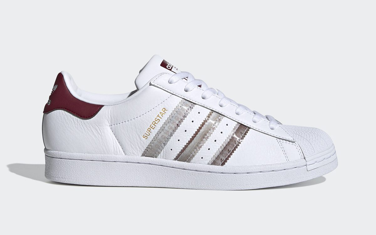 The adidas Superstar Appears with Holographic Three Stripe Finishes