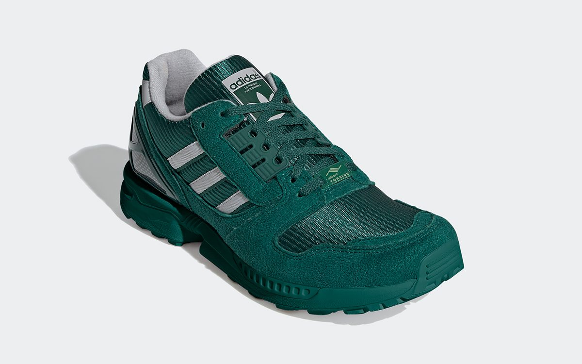 """Available Now // adidas ZX 8000 """"Collegiate Green"""""""