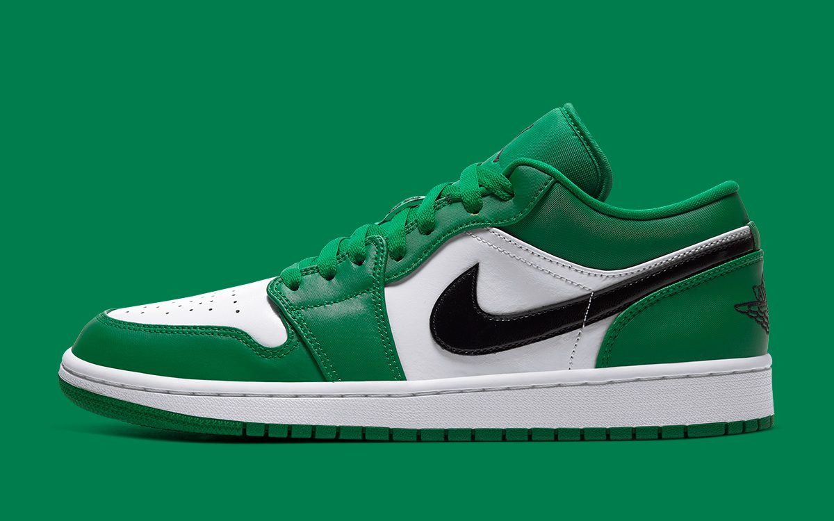 "Available Now // Air Jordan 1 Low ""Pine Green"""