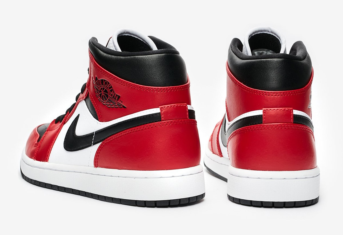 Available Now Air Jordan 1 Mid Chicago Toe House Of Heat