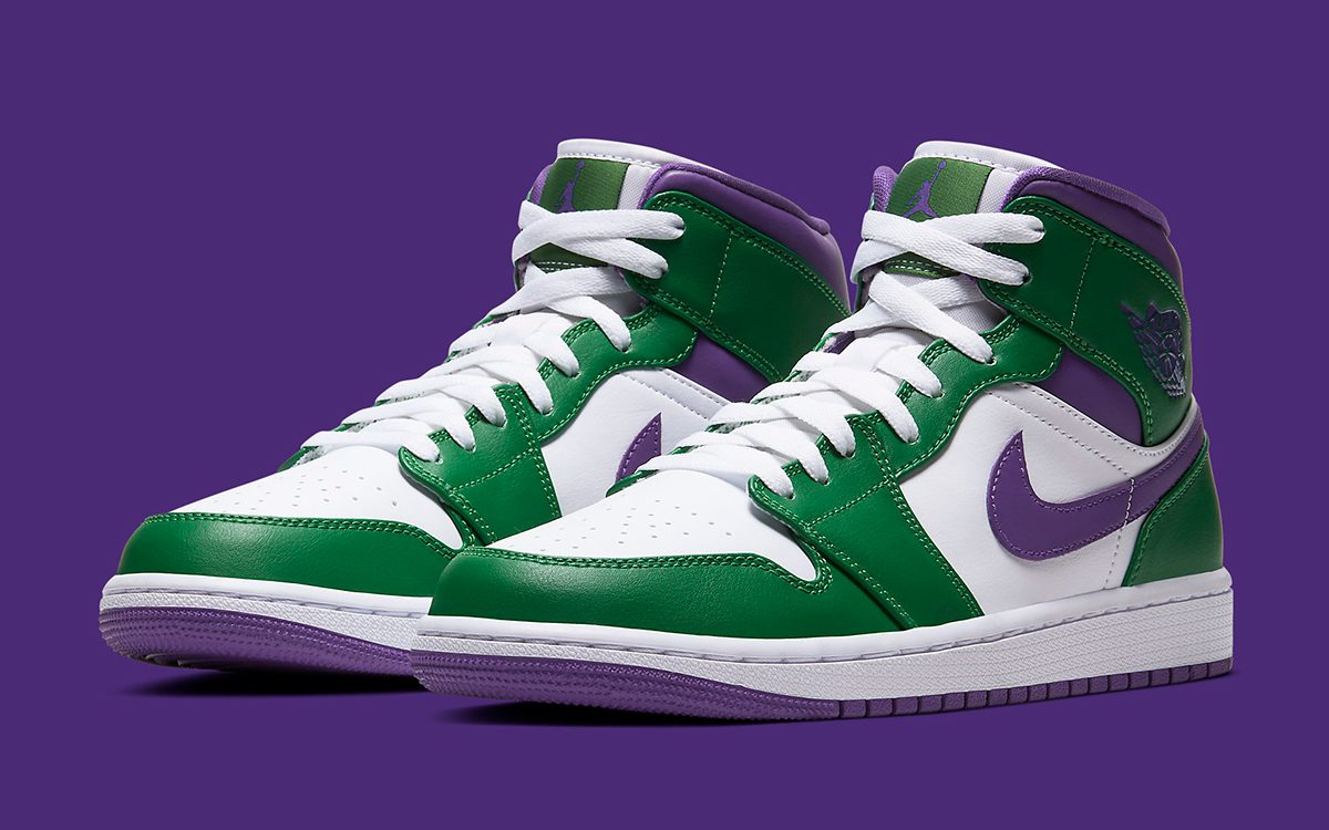 """Available Now // The Air Jordan 1 Mid """"Incredible Hulk"""" is Enraging"""
