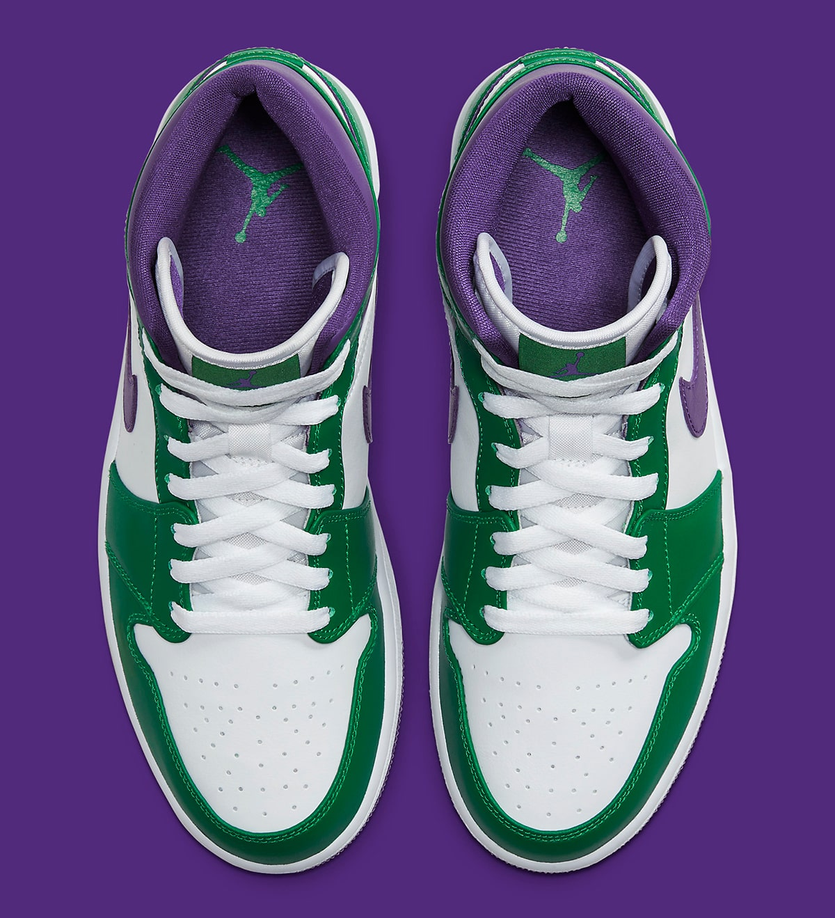 Available Now The Air Jordan 1 Mid Incredible Hulk Is Enraging House Of Heat Sneaker News Release Dates And Features