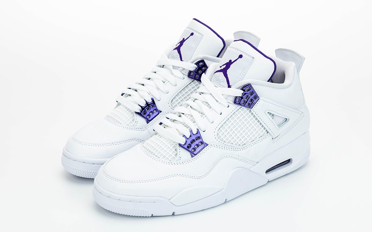 "Detailed Looks at the Air Jordan 4 ""Court Purple"""