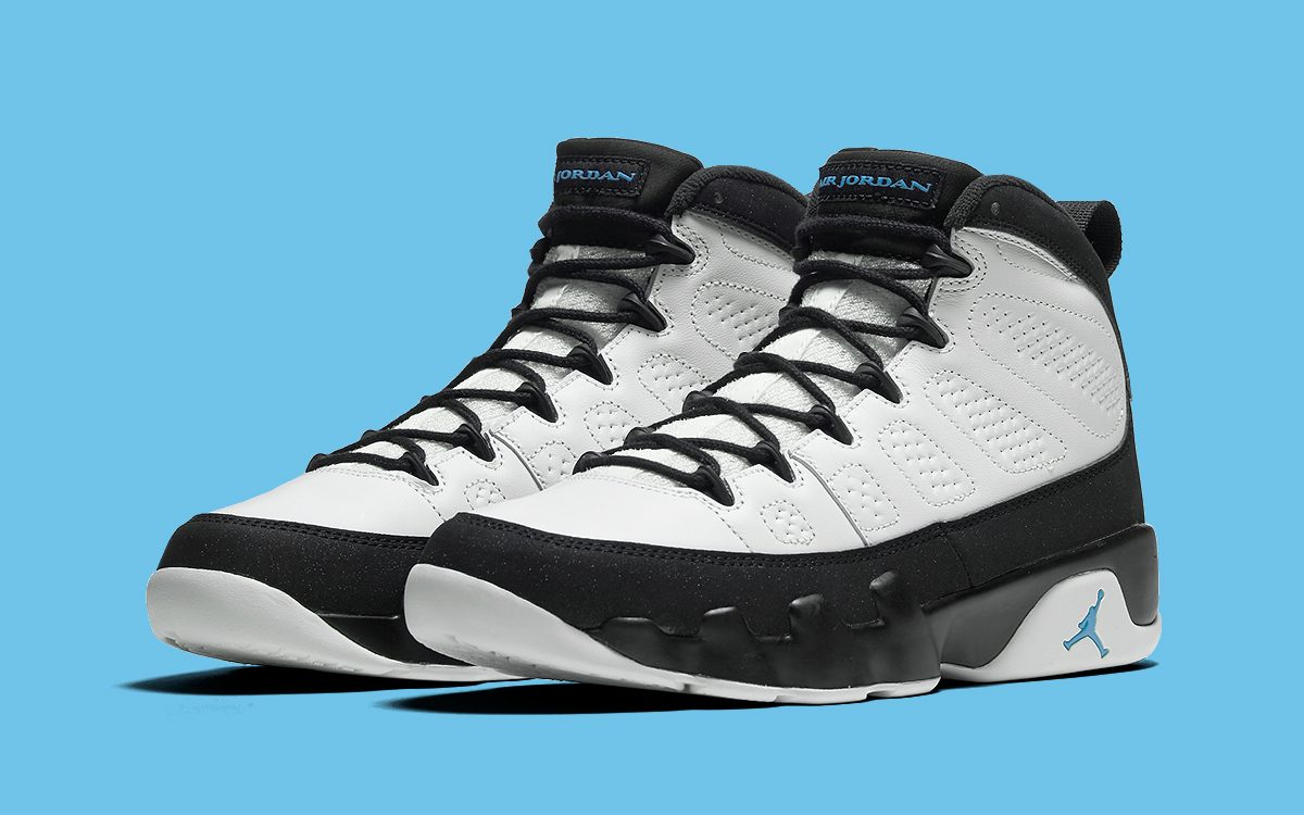 "The Air Jordan 9 ""University Blue"" Arrives December 5th"