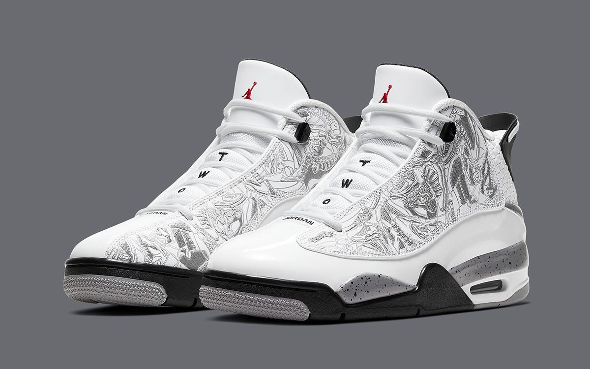"Available Now // Jordan Dub Zero ""White Cement"""