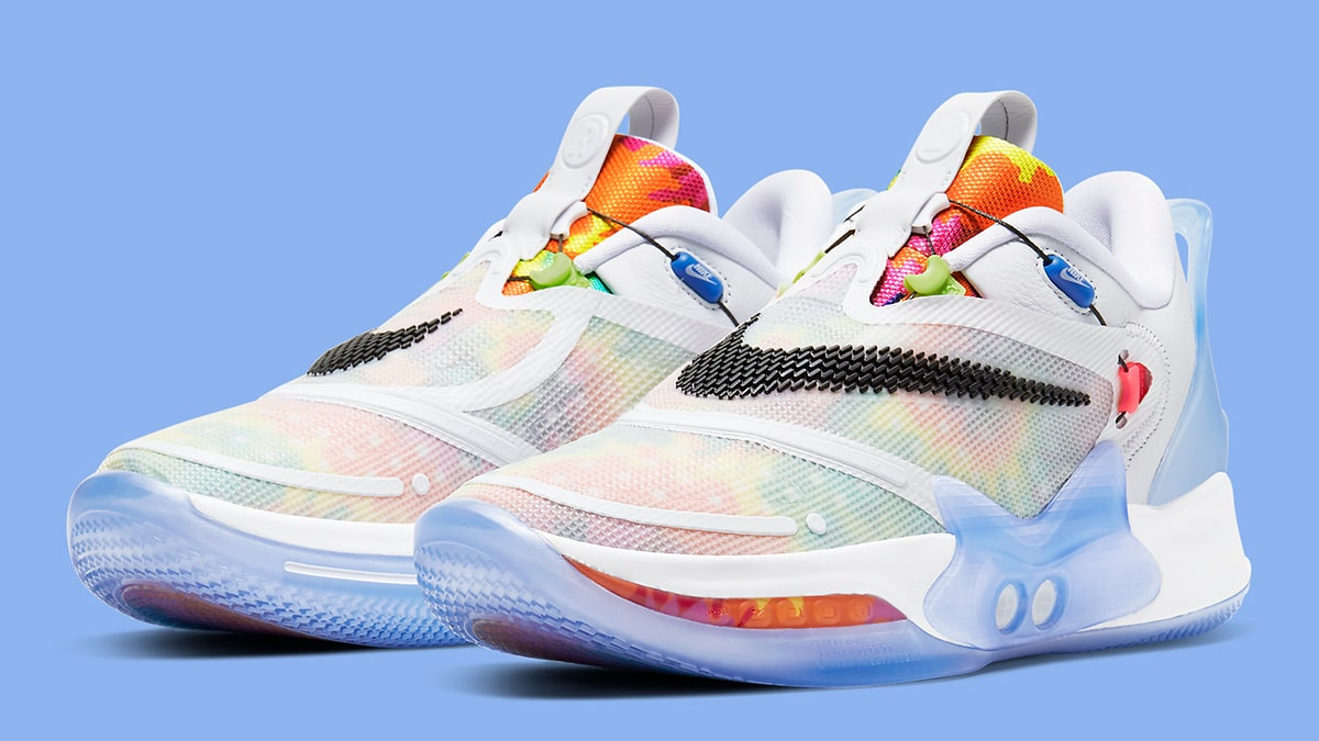Where To Buy The Nike Adapt Bb 2 0 Tie Dye House Of Heat Sneaker News Release Dates And Features