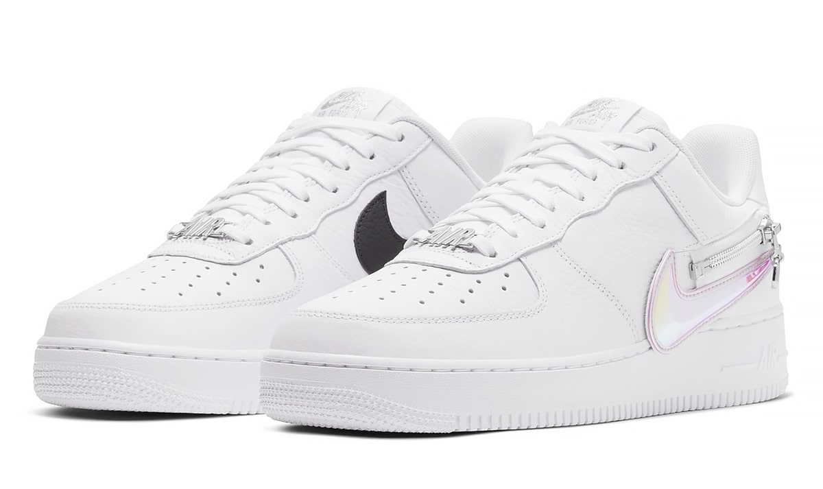 Available Now Nike Gets Overzealous On The Air Force 1 With Zip