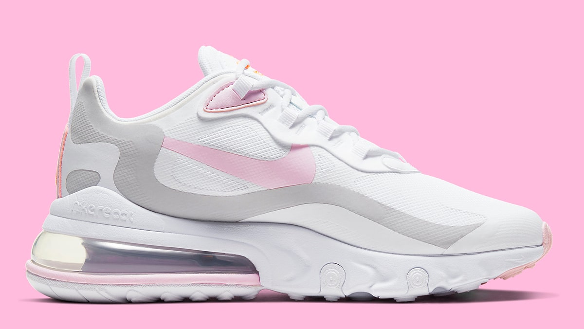 The Nike Air Max 270 React Gets Popped With Pastel Pinks House