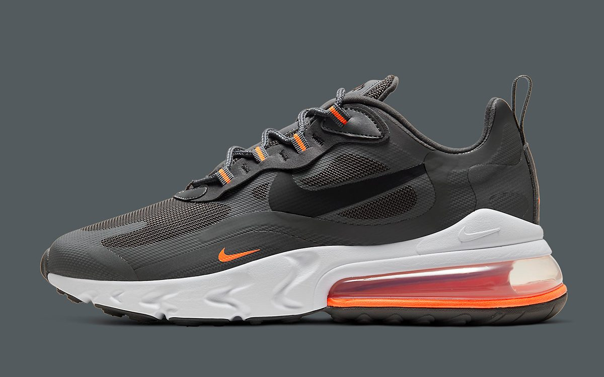 Nike Air Max 270 React Appears In Grey Ballistic Mesh House Of