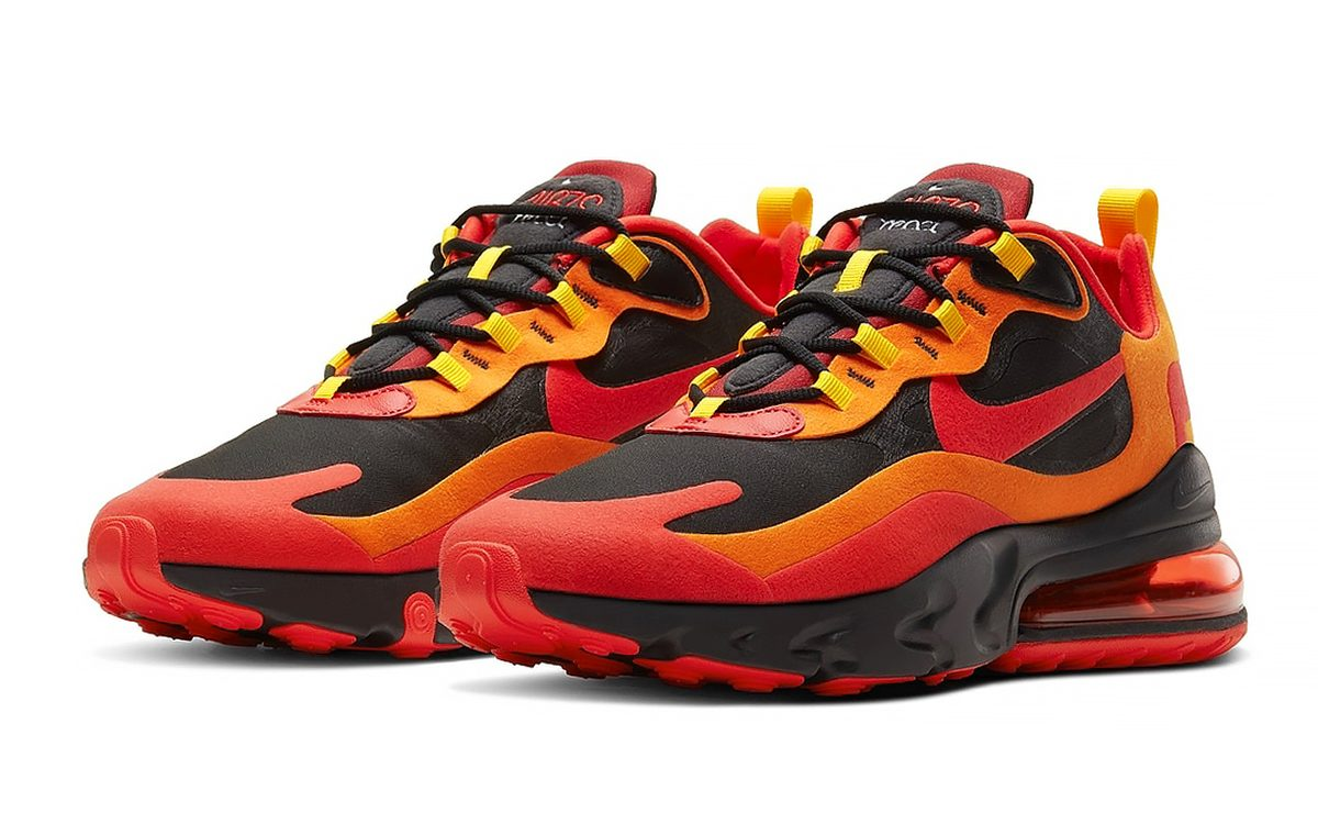 Available Now Nike Air Max 270 React Lava House Of Heat