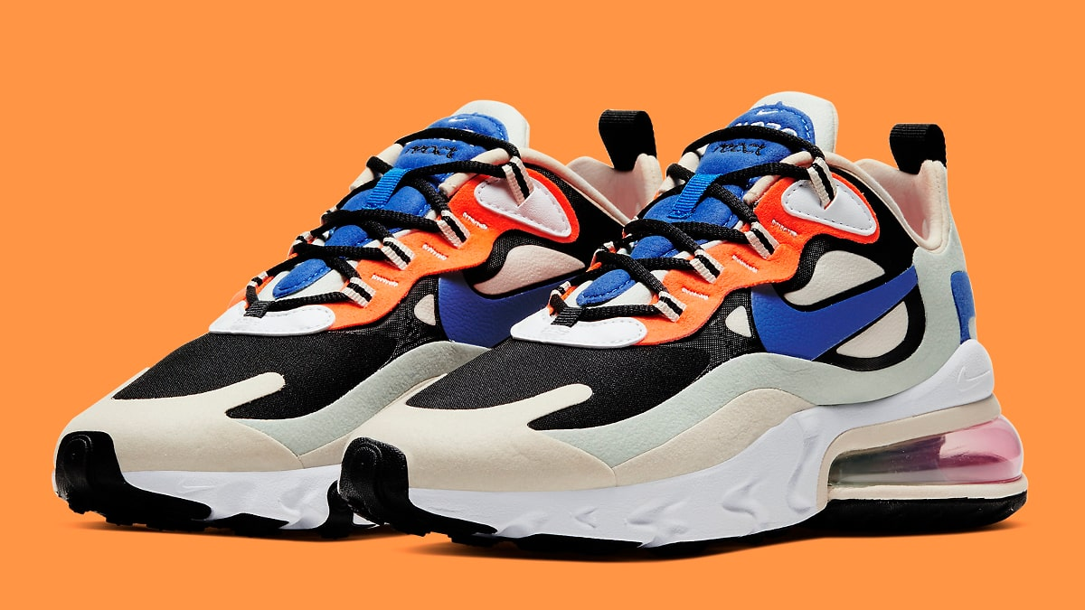 Available Now The Nike Air Max 270 React Subtly Mimics Og Air