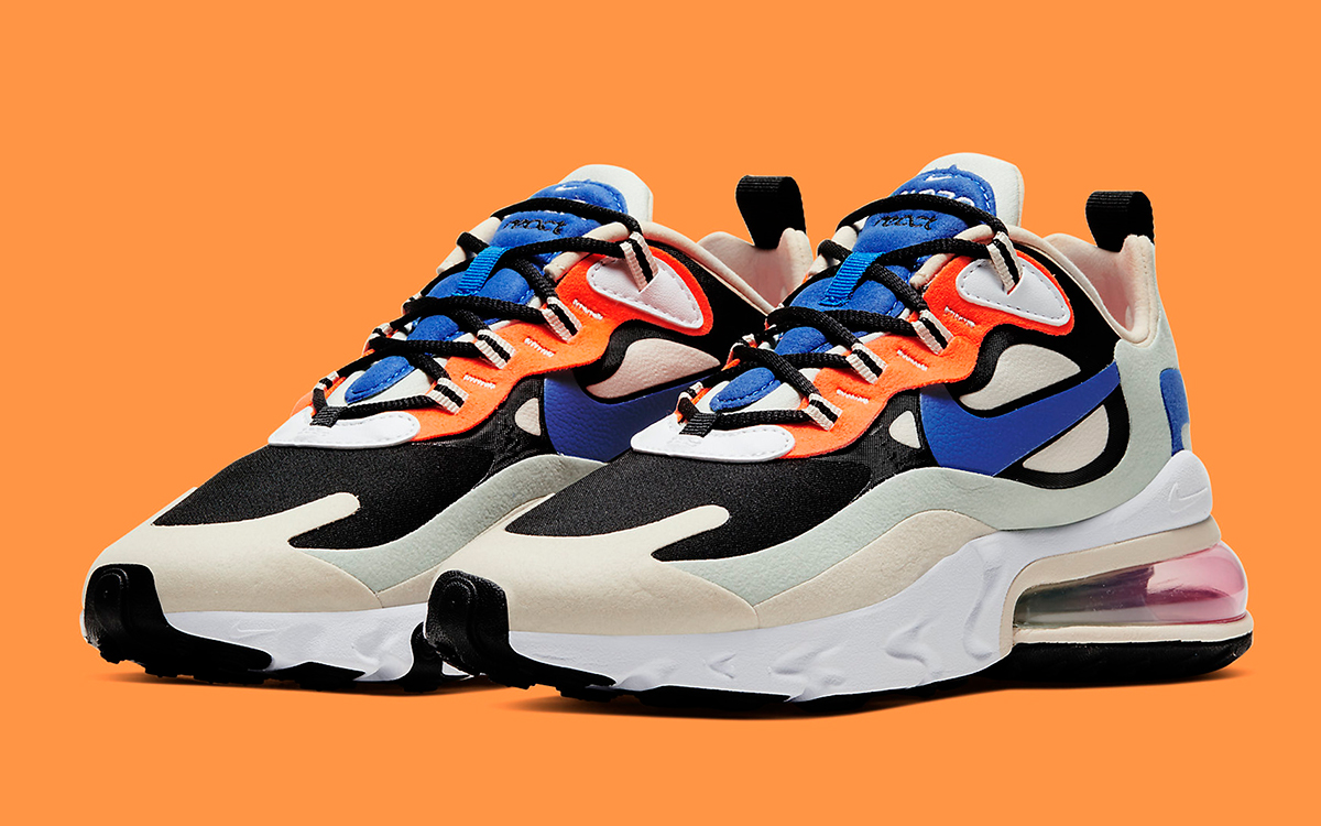 Available Now The Nike Air Max 270 React Subtly Mimics OG