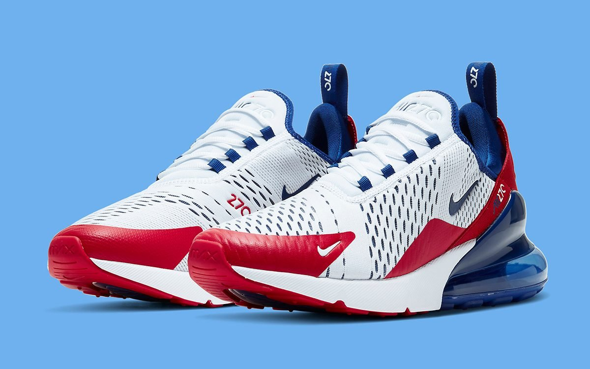 Available Now Nike Air Max 270 Usa House Of Heat Sneaker