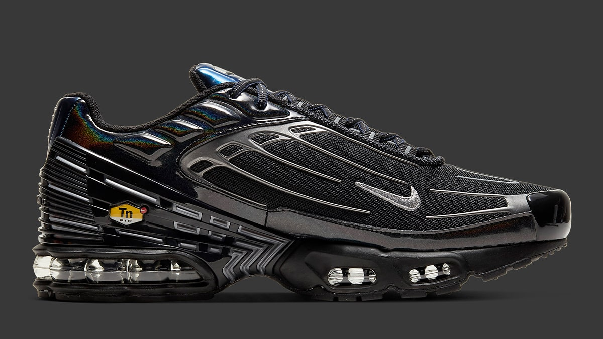 The Air Max Plus 3 Gets Cranked Up With Chrome And Iridescent
