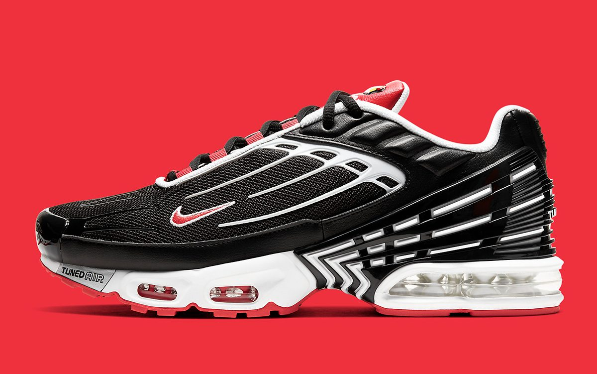 "Available Now // Nike Air Max Plus 3 ""Bred"""
