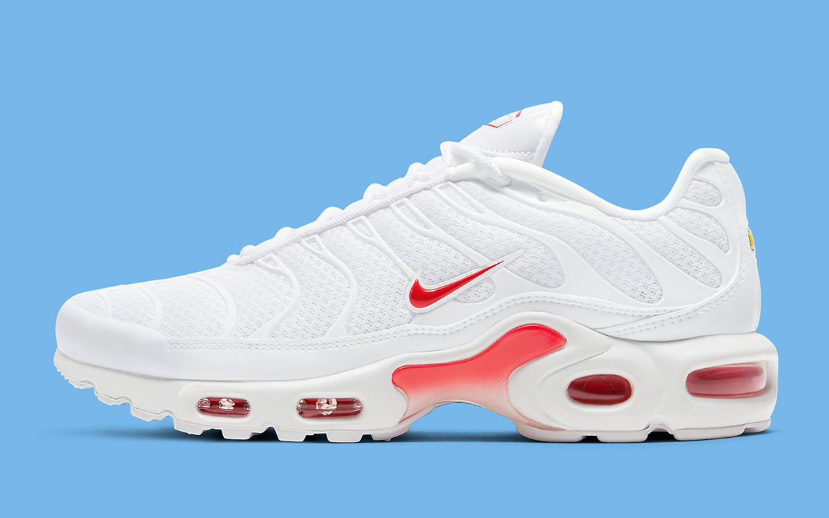 The Nike Air Max Plus Surfaces in a