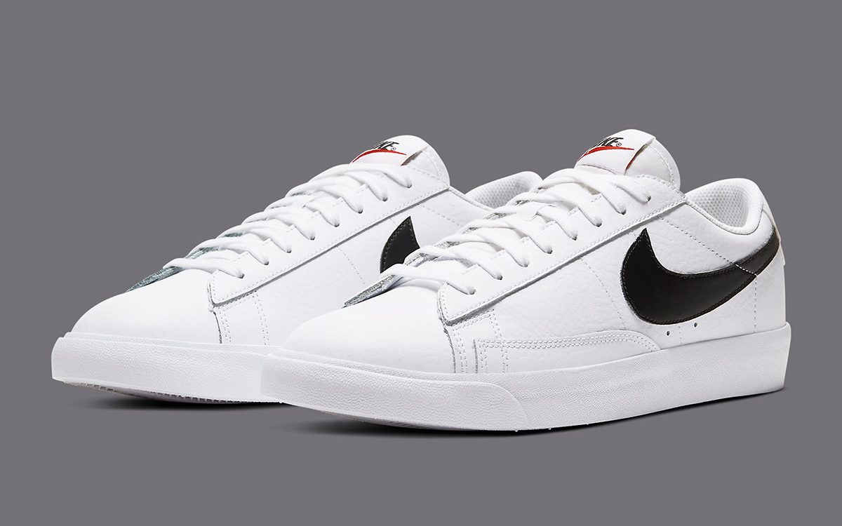 Dictar muelle eficacia  The Nike Blazer Low Leather is Back in White and Black! - HOUSE OF HEAT |  Sneaker News, Release Dates and Features