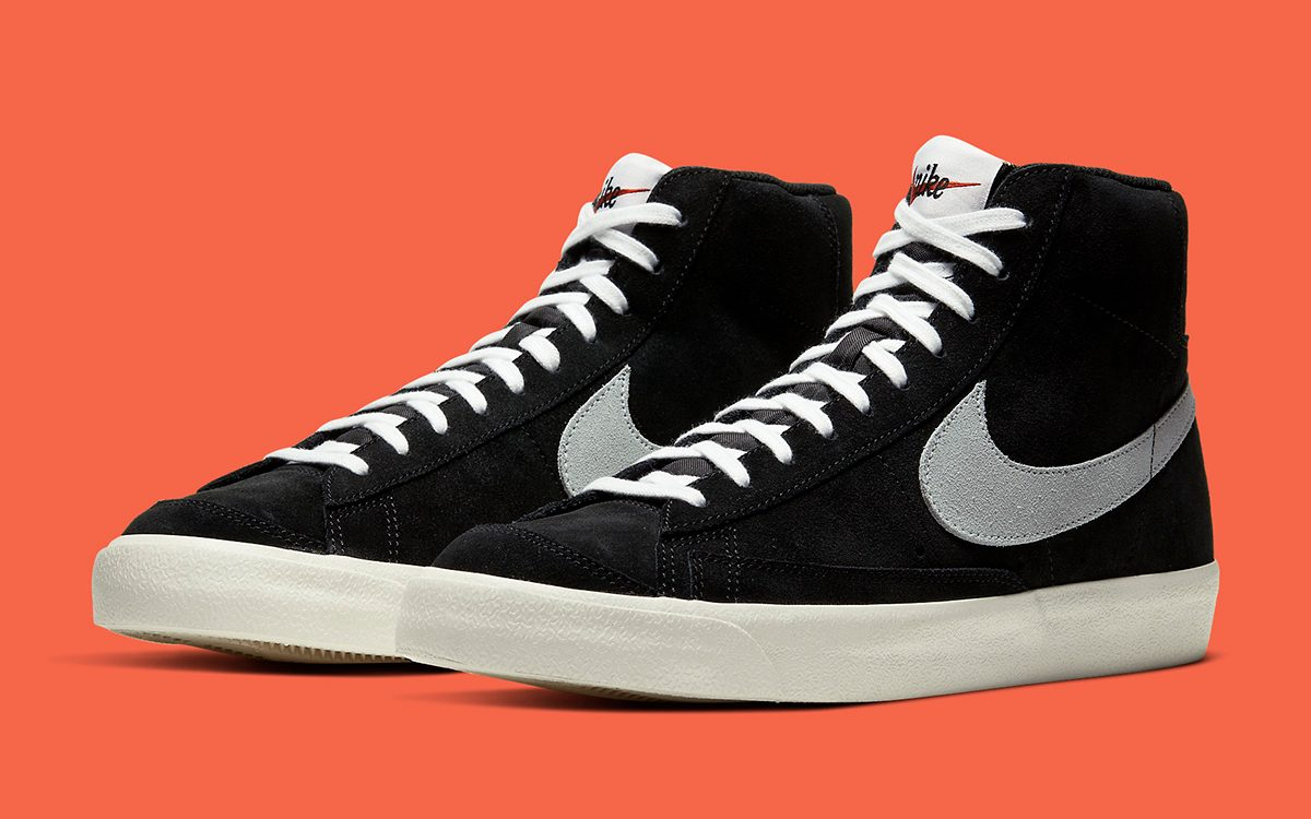 "Available Now // Nike Blazer Mid 77 ""Black Suede"""