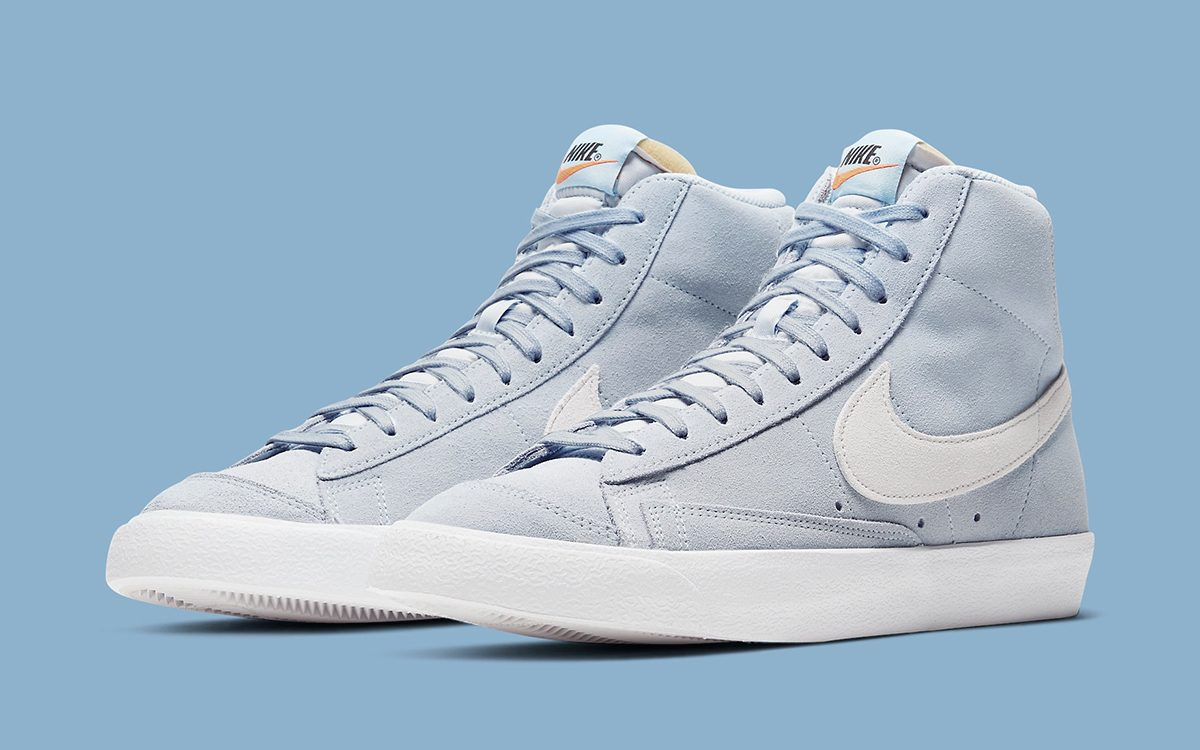 "Get Hyped Over this Nike Blazer Mid '77 Suede ""Hydrogen Blue"""