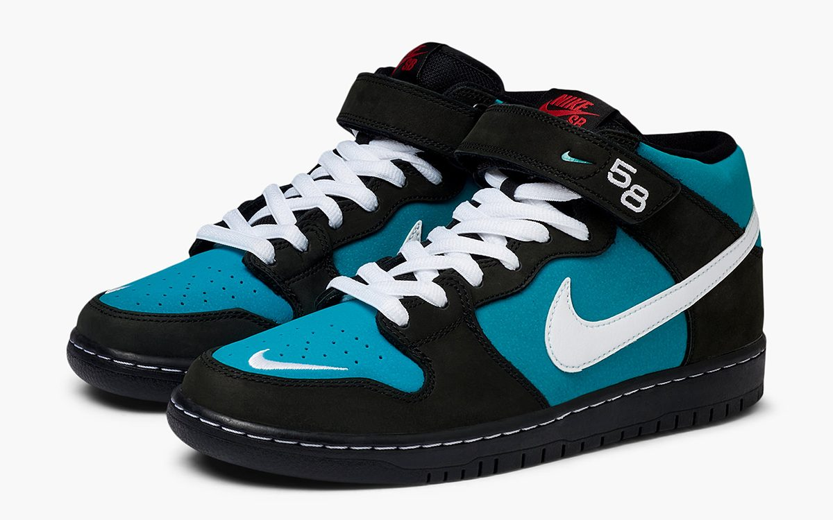 """Detailed Looks at the Nike SB Dunk Mid """"Griffey"""""""