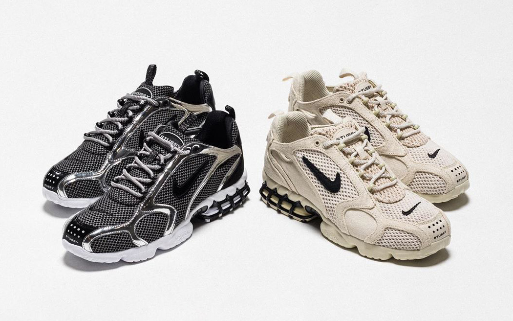 Where to Buy the Stussy x Nike Air Zoom Spiridon Caged Collab