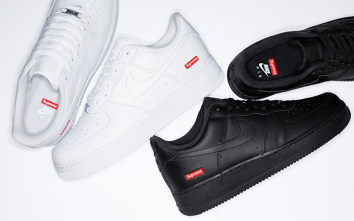 Supreme Nike Air Force 1 Rumored To Release On Snkrs This Saturday