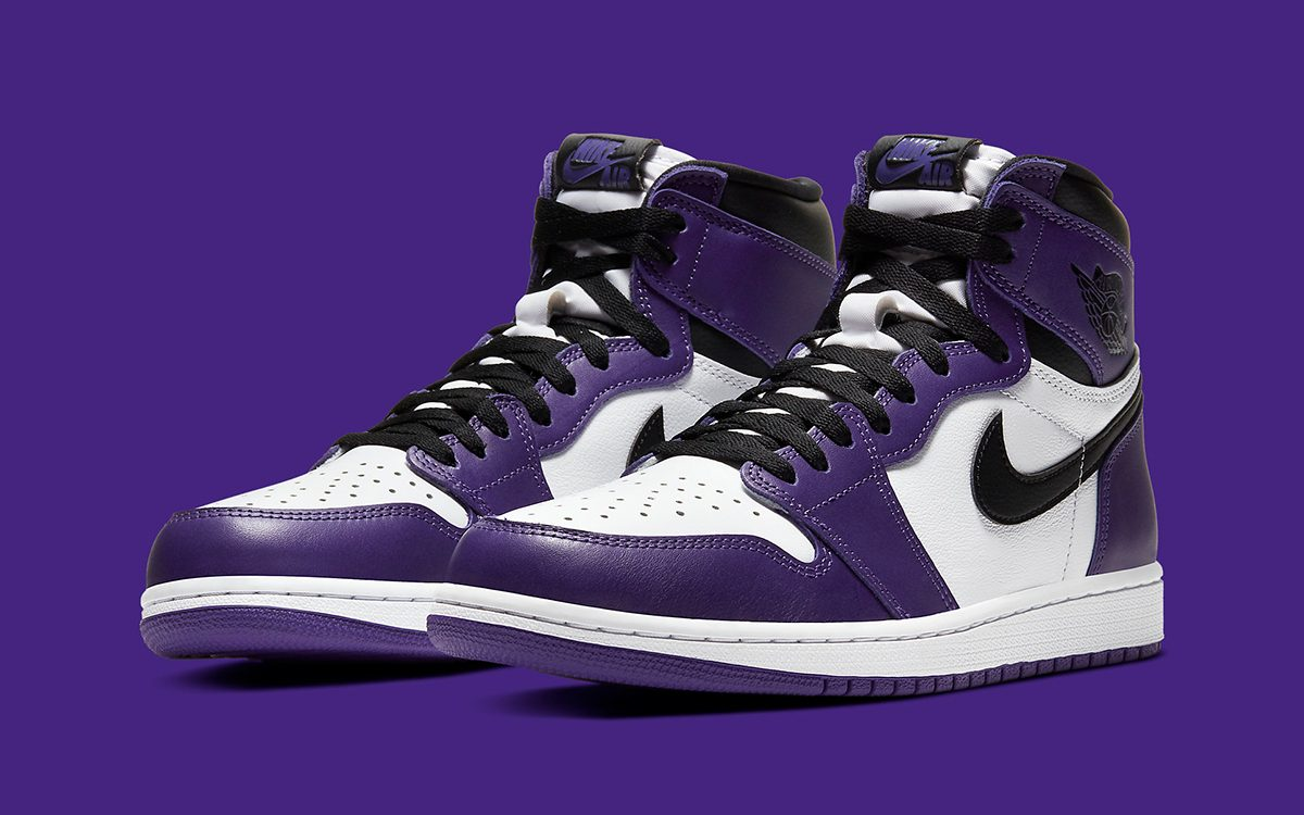 "Air Jordan 1 High ""Court Purple"" Pushed to April 11th"