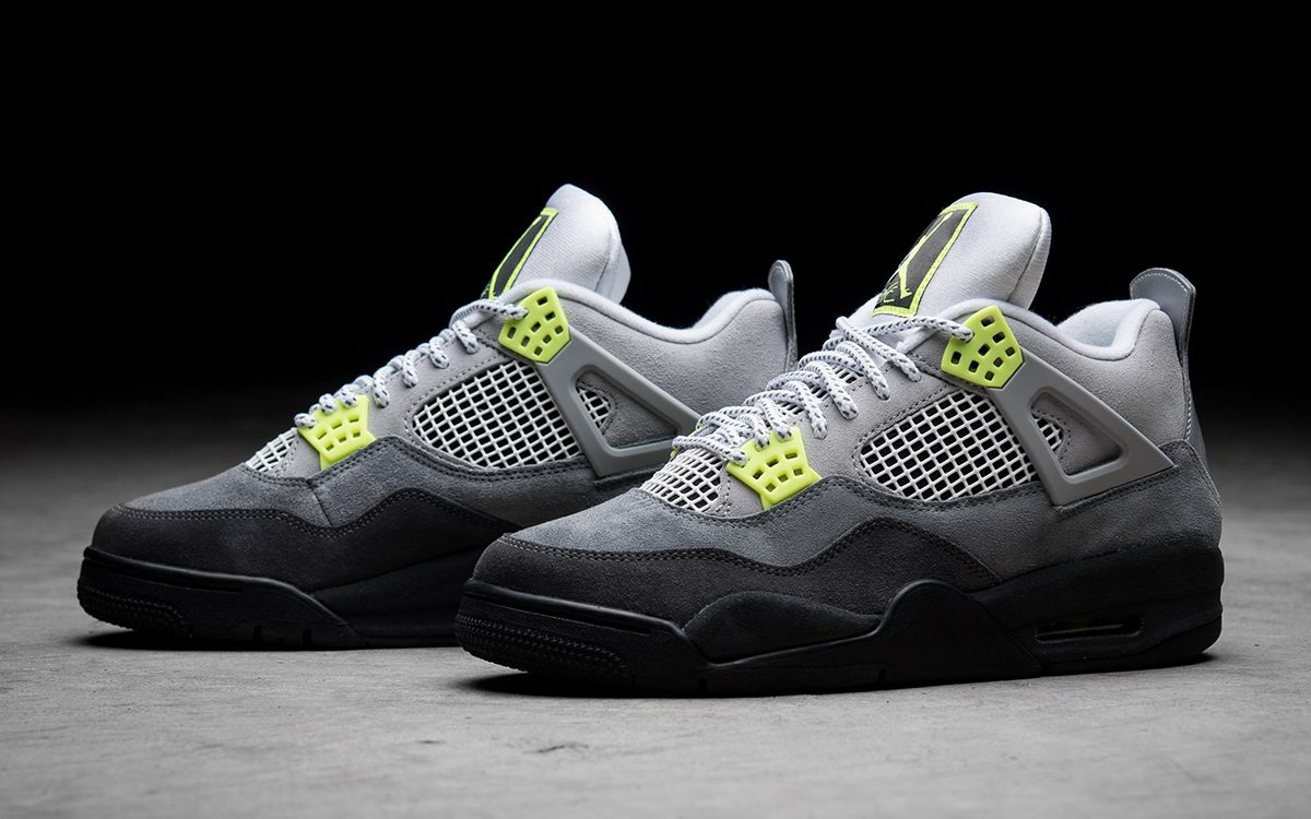 "Where to Buy the Air Jordan 4 ""Neon"" (Air Max 95)"