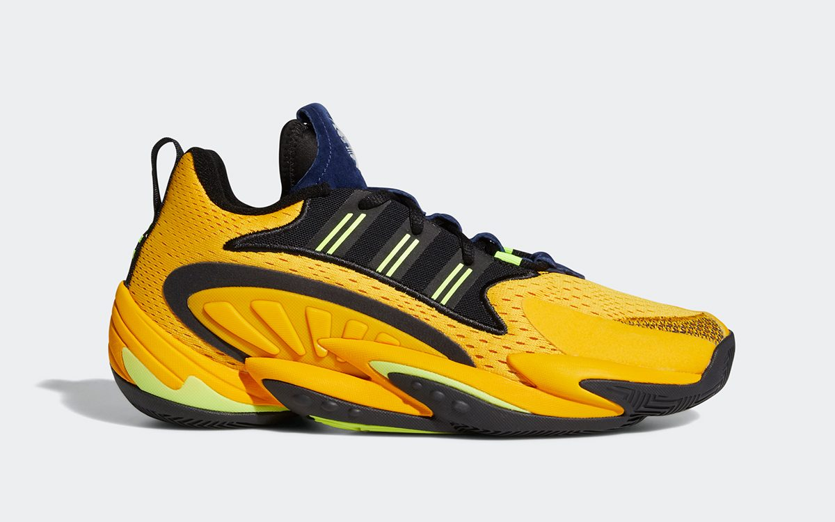 adidas Crazy BYW X 2.0 Arriving in Michigan-Inspired Colorway